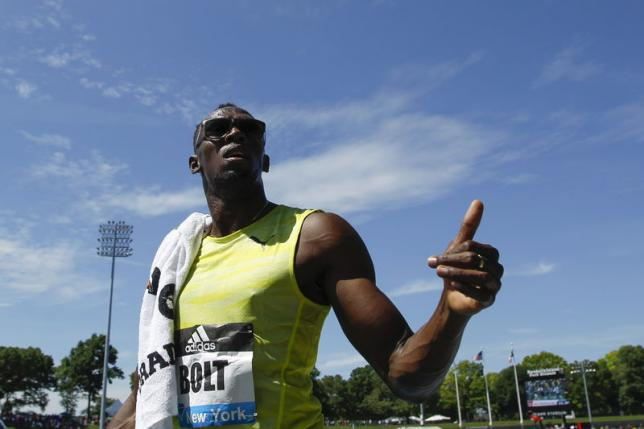 Bolt targets happy return at London Anniversary Games