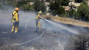 California brush fires force evacuations
