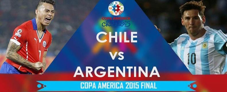 Excitement High In Santiago Ahead Of Argentina Chile Copa America