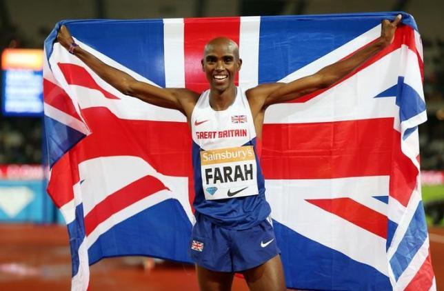 UK Athletics says no evidence of Farah 'impropriety'