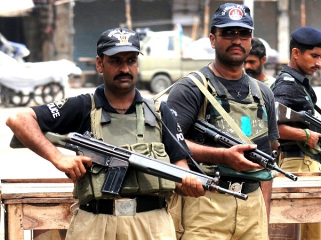 Police apprehended at least 15 suspects in Karachi operation
