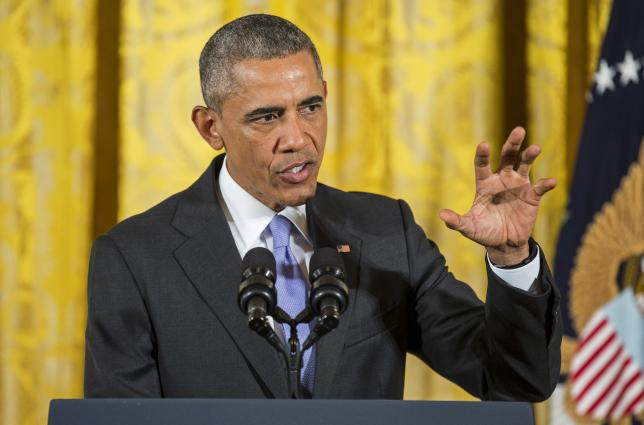 Obama says no challenge greater threat to US future than climate change