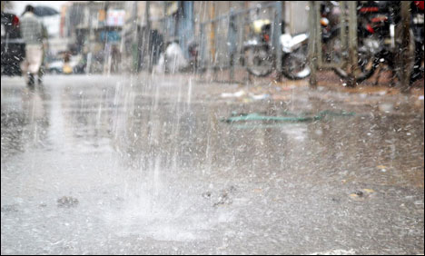 Wide-spread rain expected in KPK, Punjab and FATA