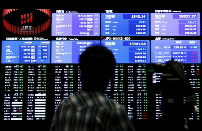 Asian shares wilt in shadow of Wall Street's earnings woes