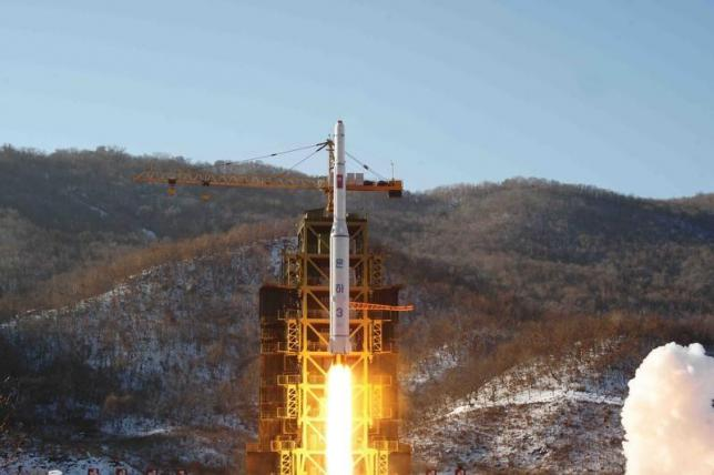North Korea upgrades missile tower for possible October launch