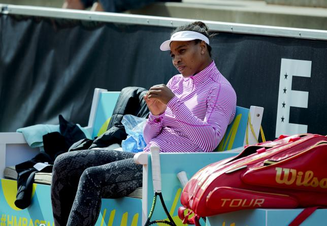 Serena to rest for a week due to elbow injury