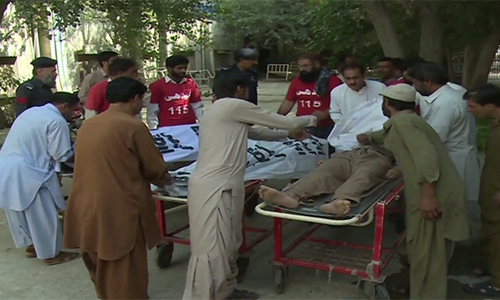 Two brothers, cop deployed at 92 News Bureau Office killed in firing near Quetta Passport Office