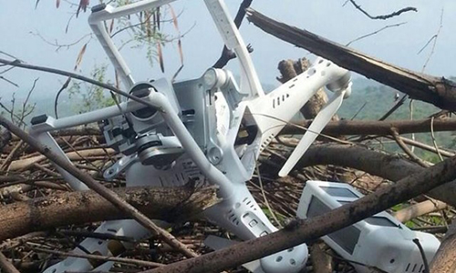 Pakistan Army shoots down Indian spy drone in Bhimber; Indian troops resort to unprovoked firing