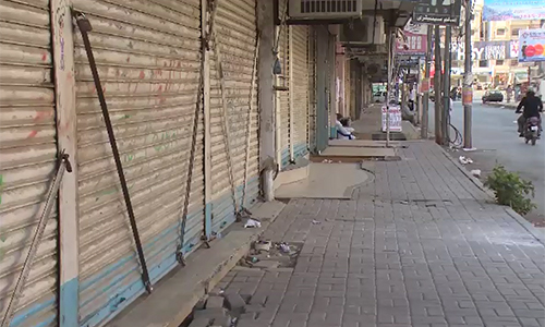 Traders observe shutter down strike against withholding tax today
