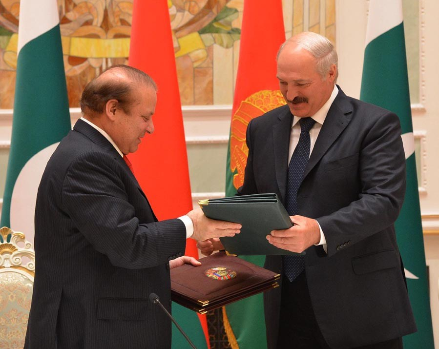 Pakistan, Belarus sign agreements, agree to frame a roadmap for relationship