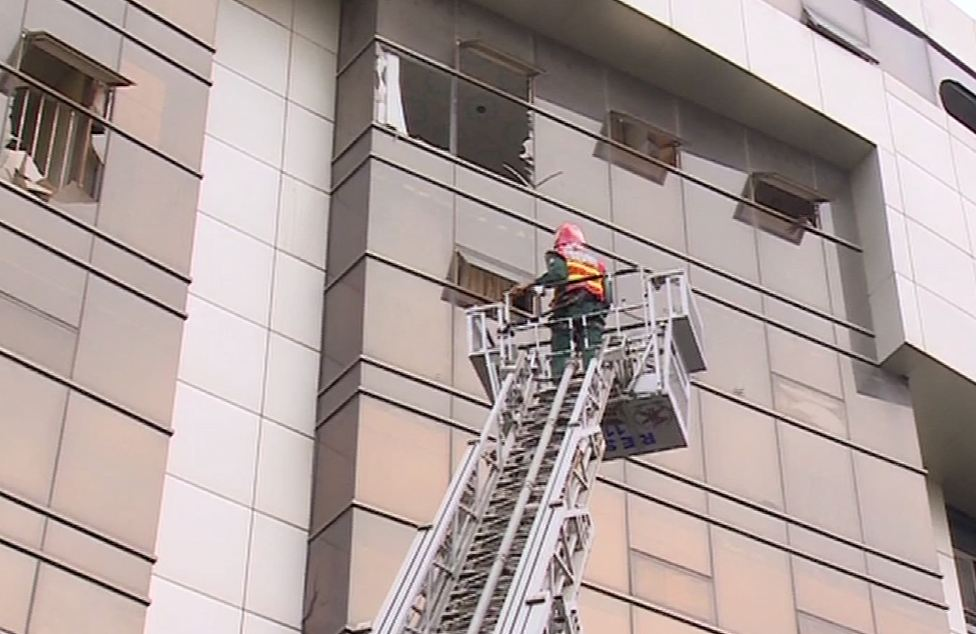 Lahore: Fire in shopping plaza claims one life, injures seven