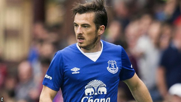 Everton reeling from Baines injury blow