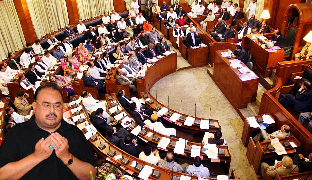 Sindh Assembly passes resolution against MQM chief Altaf Hussain for anti-army remarks