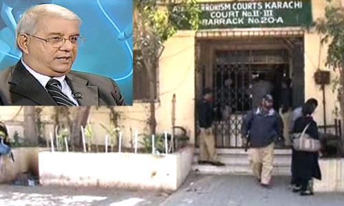 MQM Senator Tahir Mashhadi submits bail application in Anti-Terrorism Court