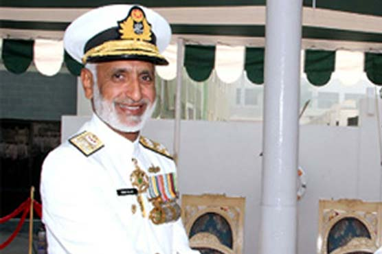 Naval Chief Admiral Zakaullah visits flood-hit areas of district Shaheed Benaziabad