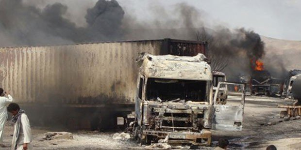 Truck bomb in eastern Afghanistan kills at least six, wounds dozens