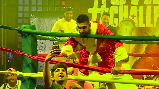 British boxer Amir Khan spends a day with his fans in Lahore