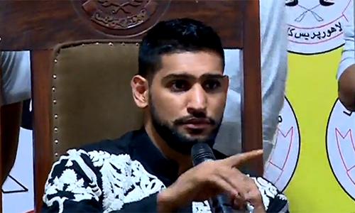 I will train Pakistani youths in boxing academy, says Pakistan-born British boxer Amir Khan