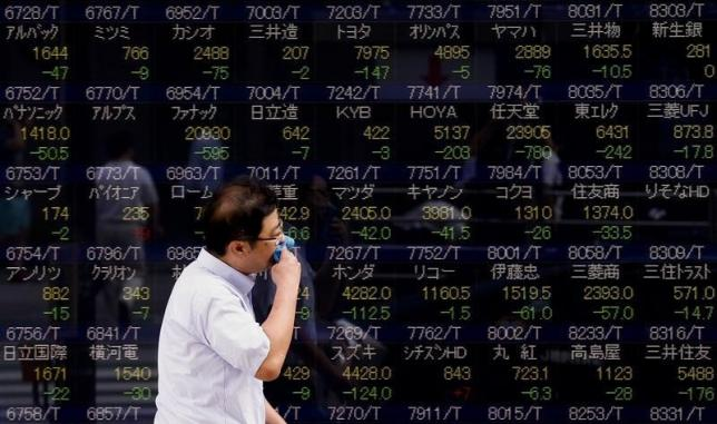 Asia erases losses, Aussie spikes on jobs data