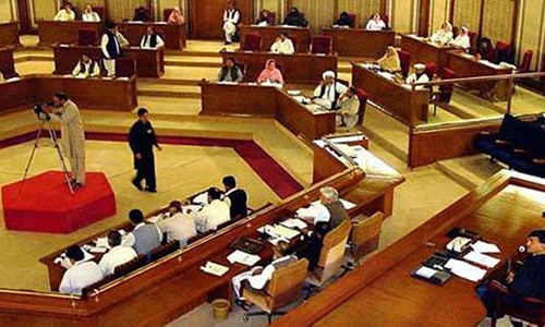 Resolution against Altaf's provocative speeches tabled in Balochistan Assembly