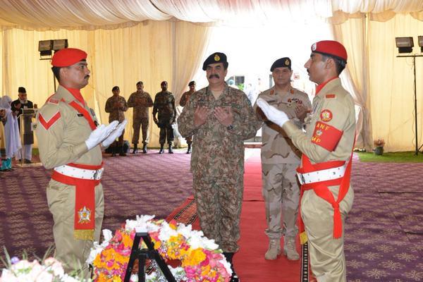 COAS visits ANF Headquarters; vows to break nexus between drug dealers, terrorists