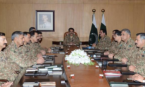 Pak Army ready to deal with every threat, aggression: COAS Gen Raheel Sharif