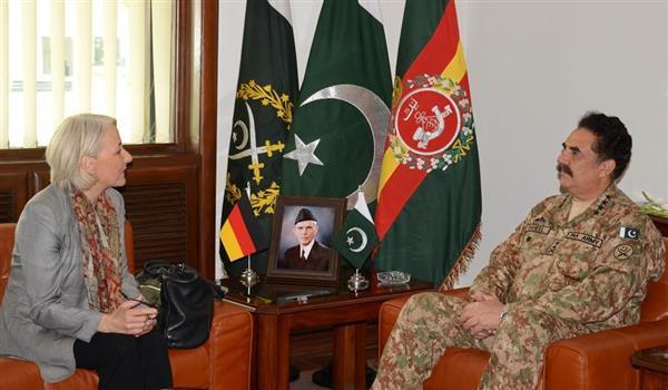 Newly-appointed German envoy calls on COAS General Raheel Sharif