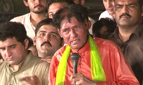 PML-N former MNA Ch Sher Ali accuses Rana Sanaullah of over 20 target killings