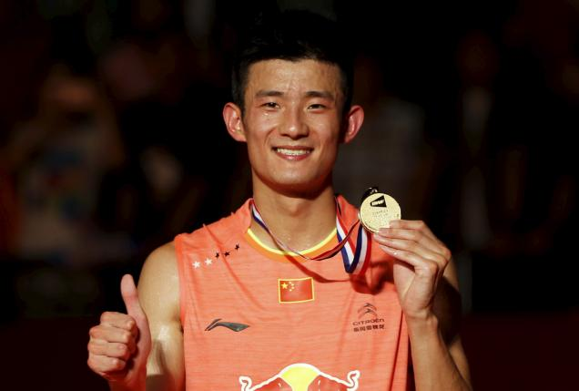 Imperious Chen overcomes Lee in world defence
