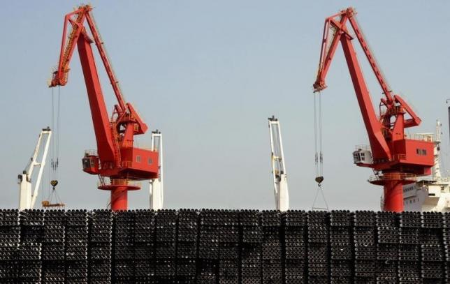 China's July exports fall 8.3 percent year on year, missing forecasts