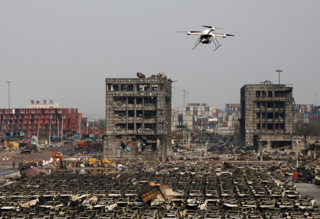 China Detains 12 Over Tianjin Blasts Accuses Officials Of Dereliction
