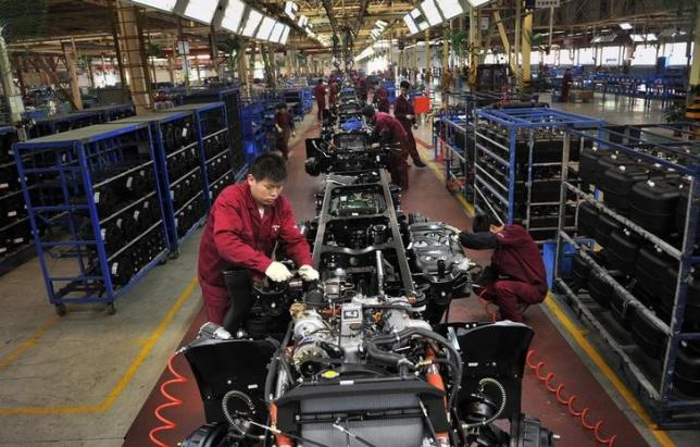 China July factory growth unexpectedly stalls: official PMI survey