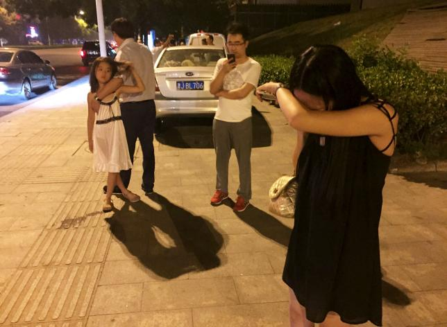 Several injured as huge explosions rock Tianjin in northeast China