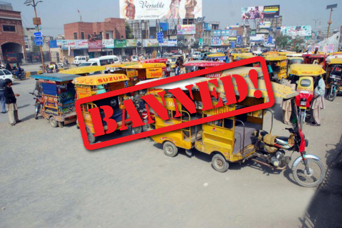 Sindh High Court bans motorcycle-rickshaw in the province