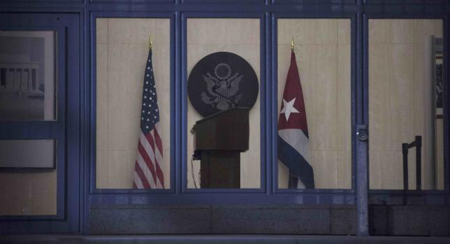 In another symbol of thawing ties, Kerry to raise US flag at restored Havana embassy
