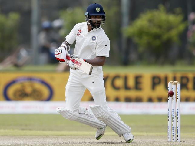 Indian opener Dhawan ruled out of remaining Sri Lanka Tests