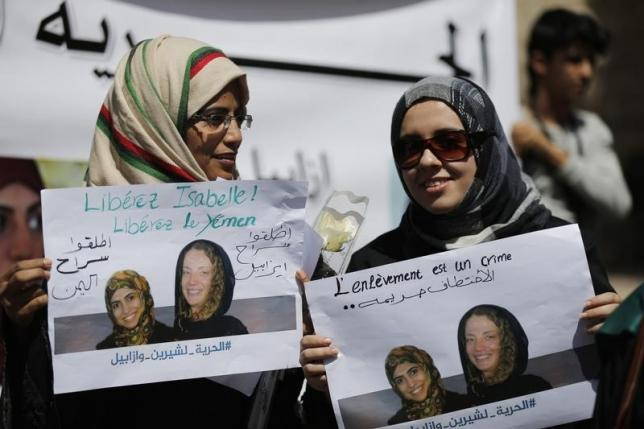 French hostage freed in Yemen, president's office says
