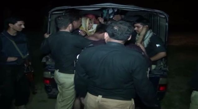 Three Afghan nationals, 10 women among 42 arrested in Gujranwala search operation