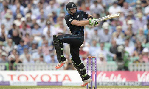 Latham hits maiden ton as rampant New Zealand level ODI series against Zimbabwe
