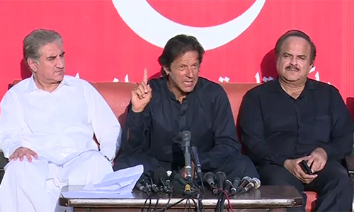 ECP's reply to my letter is shameful, says PTI chairman Imran Khan