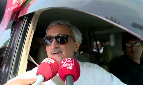 NA-154 by-polls: PTI's Jahangir Tareen accuses PML-N of pre-poll rigging