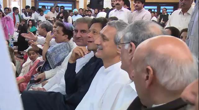 PTI chief Imran Khan rejects impression of staging sit-ins at the behest of ISI