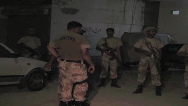 At least five terrorists killed, two cops injured in Karachi operation
