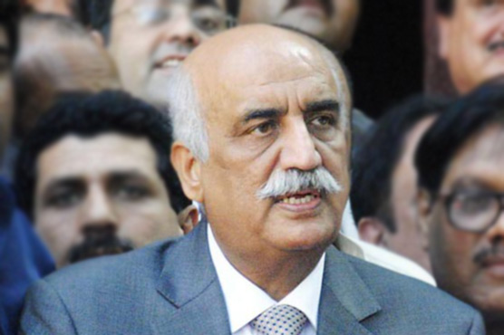 PPP leader Khurshid Shah announces support for traders' protest against withholding tax