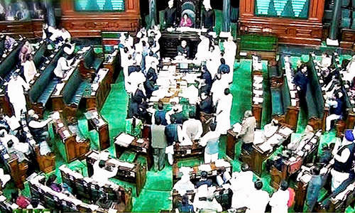 25 Congress lawmakers suspended from Lok Sabha for raising voice against corruption