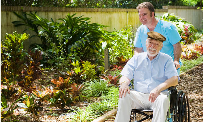 Male caregivers may be less likely to ask for help