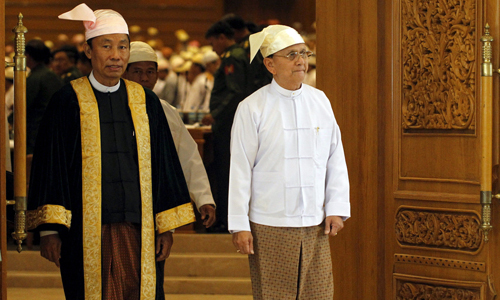 Myanmar ruling party chief sacked in power struggle with president
