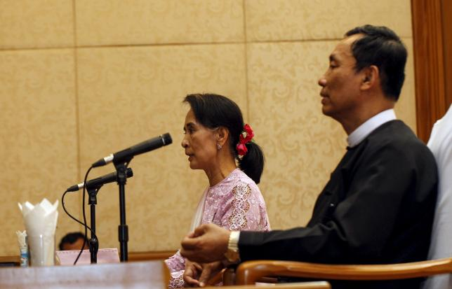 Myanmar's politicians braced for more drama as ousted leader opens parliament