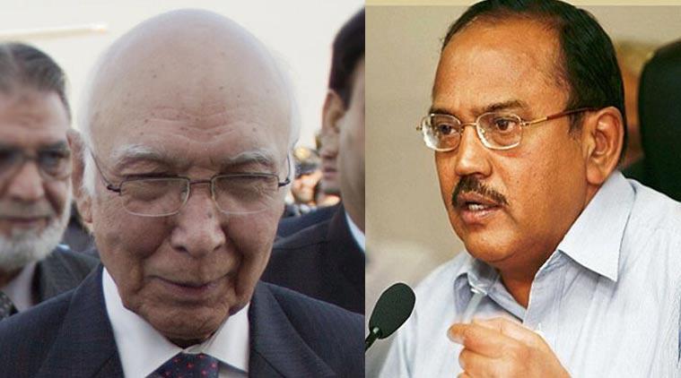 Sartaj Aziz to visit New Delhi on Aug 24 for India-Pakistan NSA talks