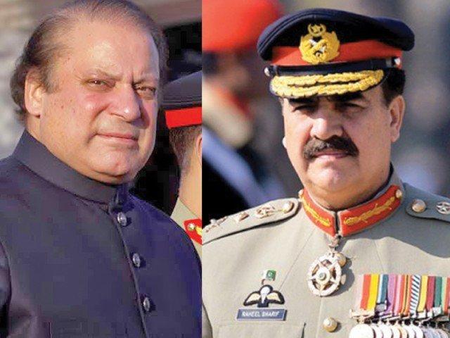 COAS Raheel Sharif meets Prime Minister Nawaz Sharif